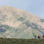 Hiking in the Pioneers (Michael S. Stevens Photo))